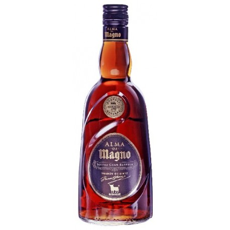 Brandy Alma de Magno gran reserva 0.7L. 38º