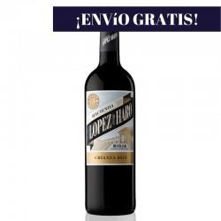 Vino Rioja Hacienda López de Haro crianza 2012, 0.75L. 13,5º