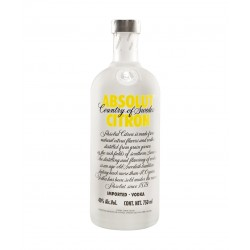 Vodka Absolut Citrón 0.7L.40º