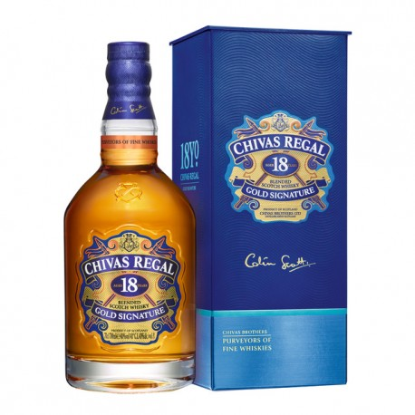 Whisky Chivas Regal 12A. 0.70L. 40º