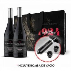 Estuche Ramón Bilbao edición Limitada 2014 2 botellas