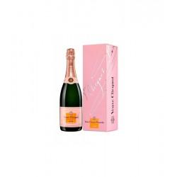 Estuche Champagne Veuve Cliquot Brut Rossé 0.75L. 1 bot.