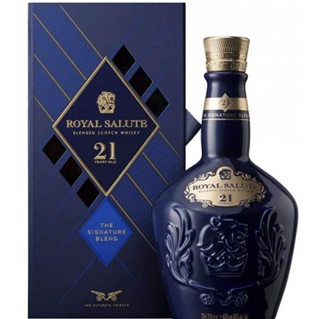 Whisky Chivas 21A, Royal Salute 0.7L., 43º