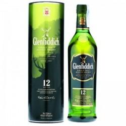 Whisky Glenfiddich 12A 0.70L. 43º