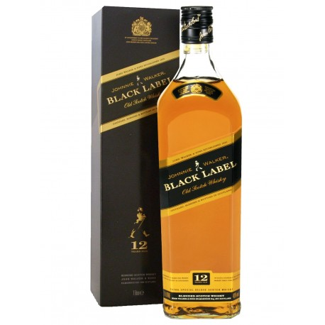 Whisky Jonnie Walker Etiqueta Negra 0.7L. 43º