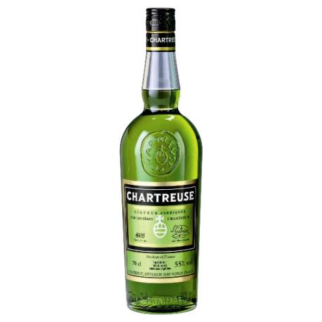 Licor Chartreuse verde 0.70, 51º